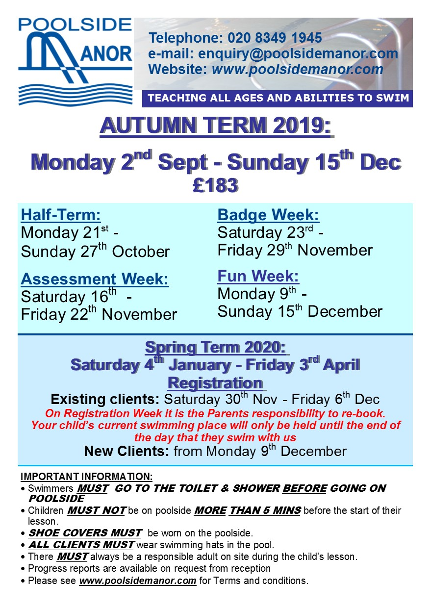 NT20190517 Term Dates Autumn 2019 Colourful